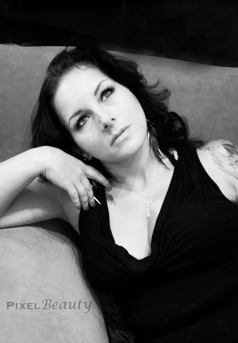 Female model photo shoot of Stormie Psy in Las Vegas, NV, makeup by Christina Rosenfeld