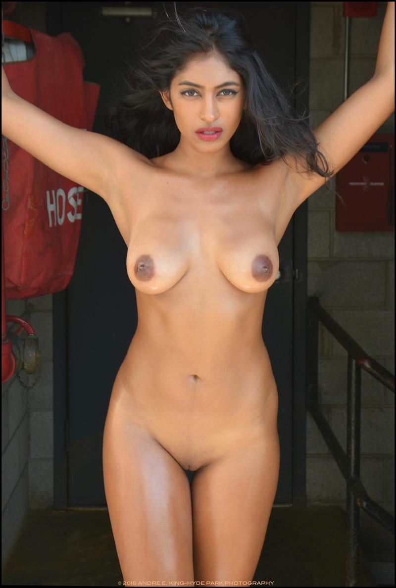 sexy black girl self shot nude