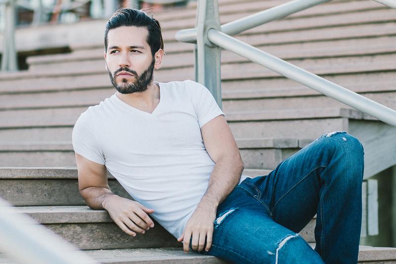Male model photo shoot of eddieryoohki and Nestor Martinez in Long Branch Beach