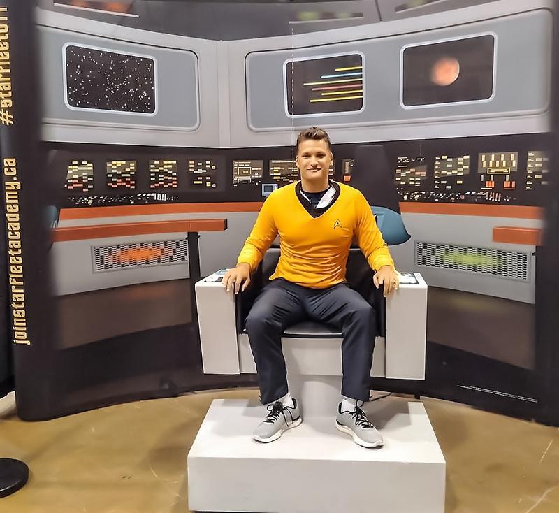 Male model photo shoot of Daimon4u in Bridge of the Enterprise