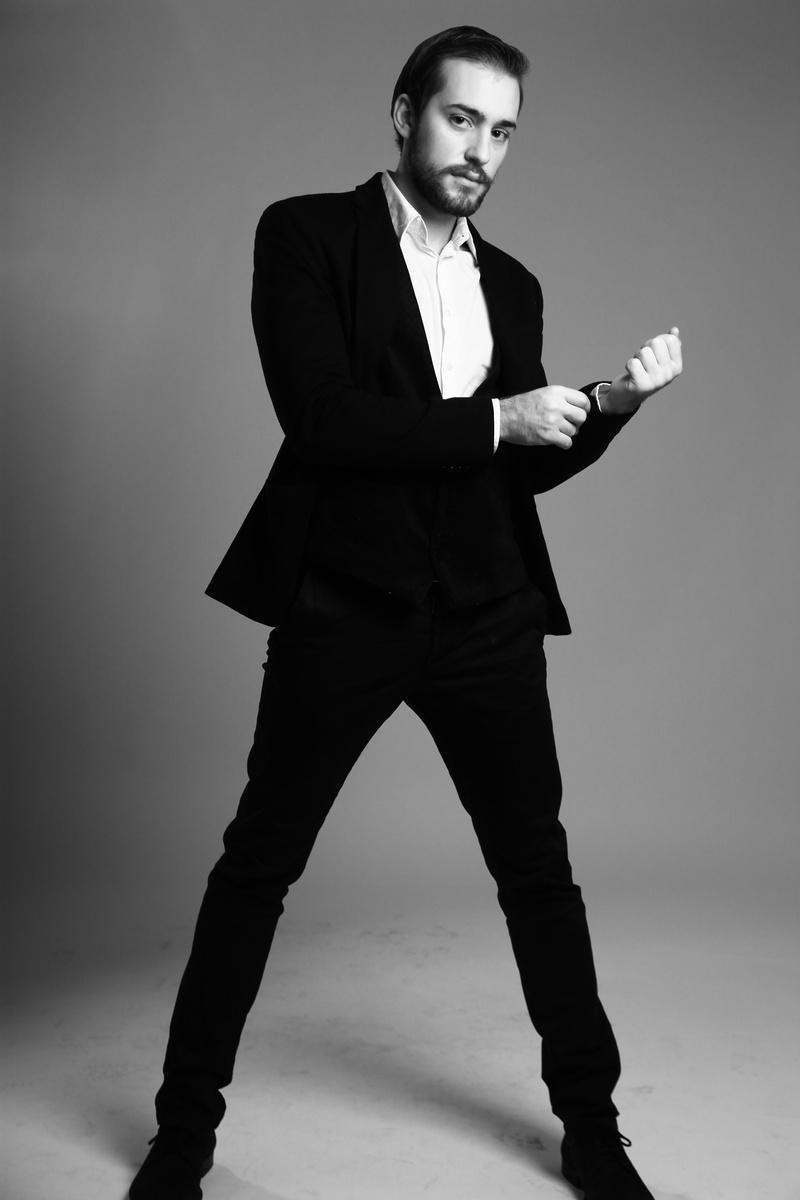 Male model photo shoot of Hristo Bonev in London