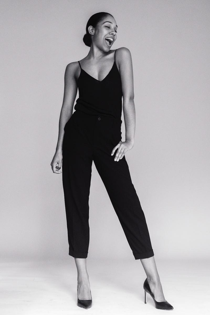 Female model photo shoot of Miss Classy in new york