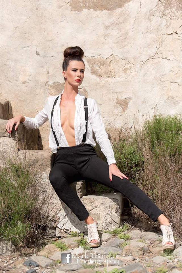 Female model photo shoot of Francesca Astley in Tenerife