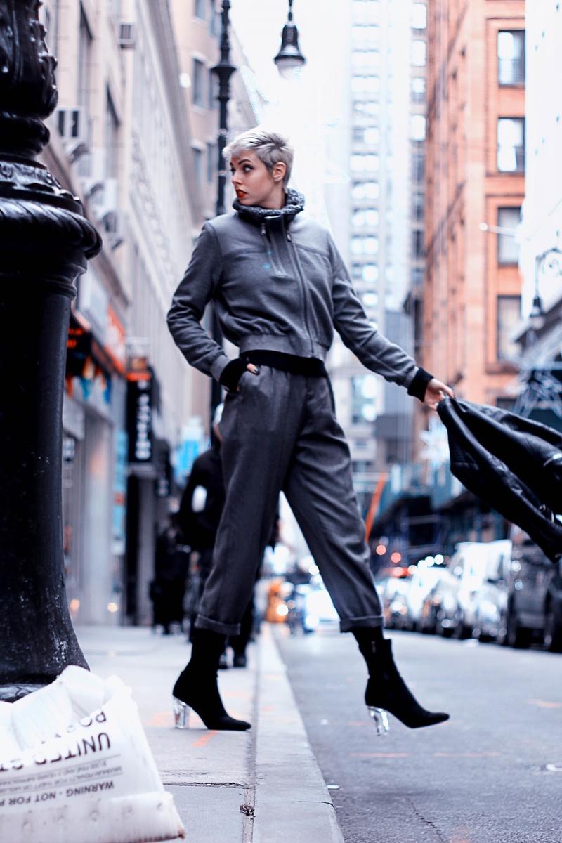 Female model photo shoot of NicoleVollhardt in New York, New York
