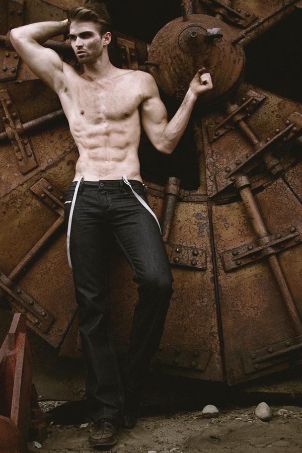Male model photo shoot of swhnyc
