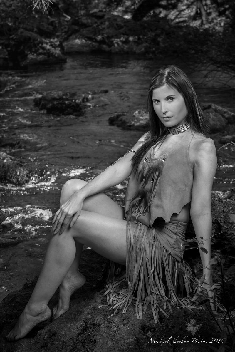 Female model photo shoot of kitt-e-kat by MichaelSheehanPhotos