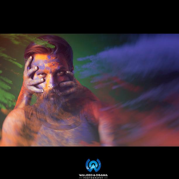 Male model photo shoot of WaleedOsamaFilms