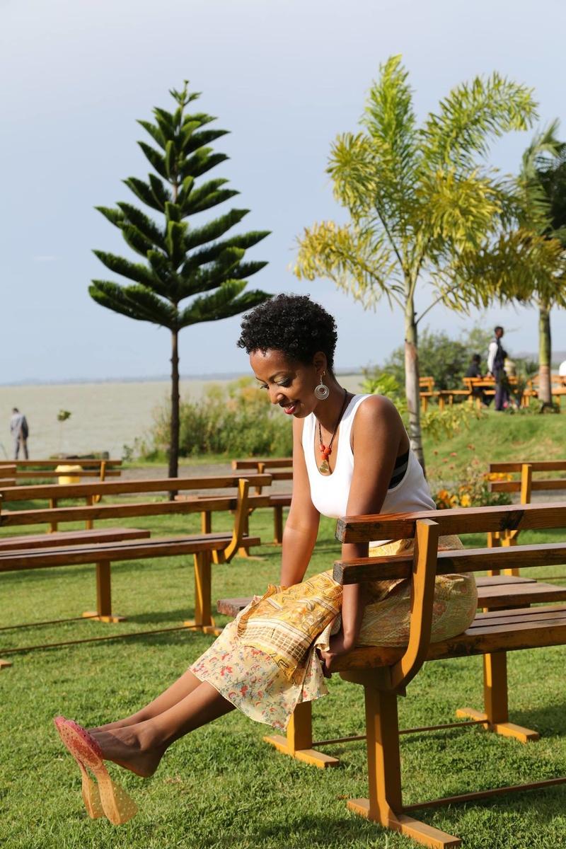 Female model photo shoot of Helu in Bahir Dar, Ethiopia