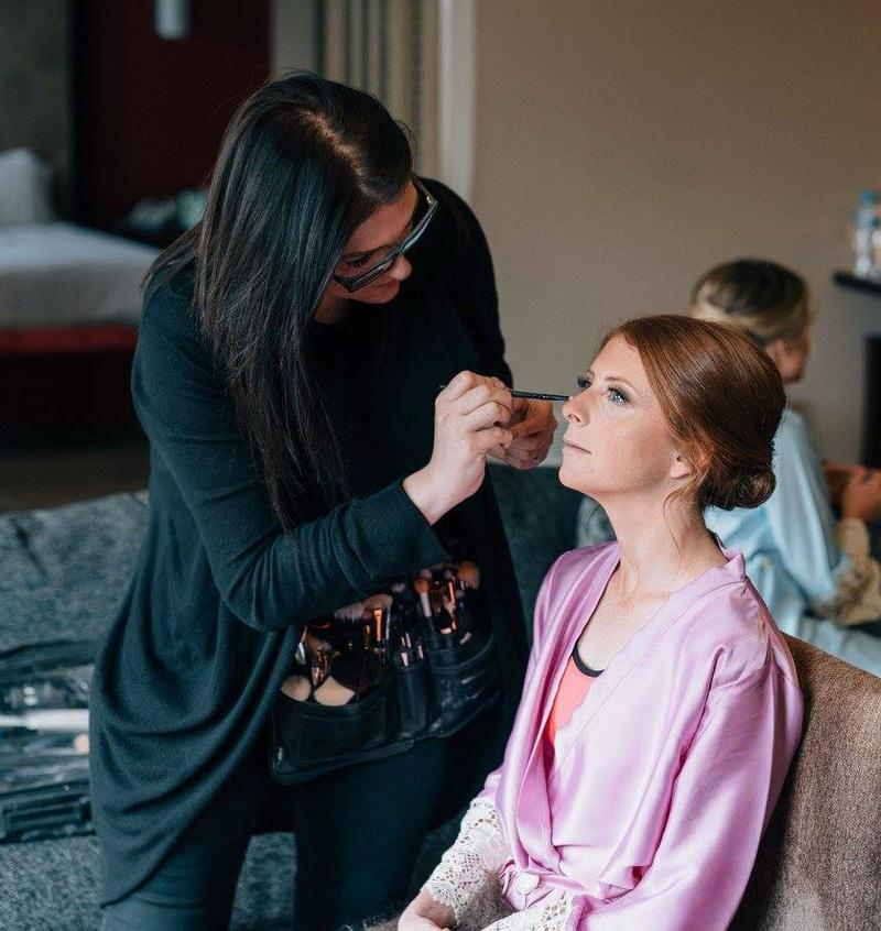 Female model photo shoot of Make-up by ELC in Tarraleah