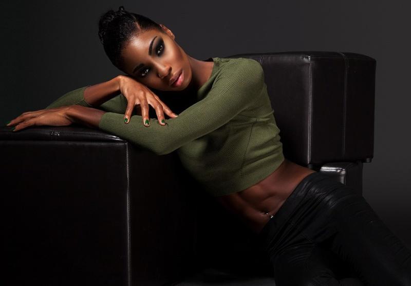 Female model photo shoot of Odette Campbell in DUBAI