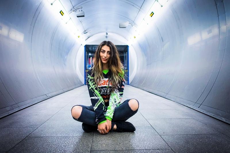 Female model photo shoot of Beatrice Kaishi by Neil Tucker