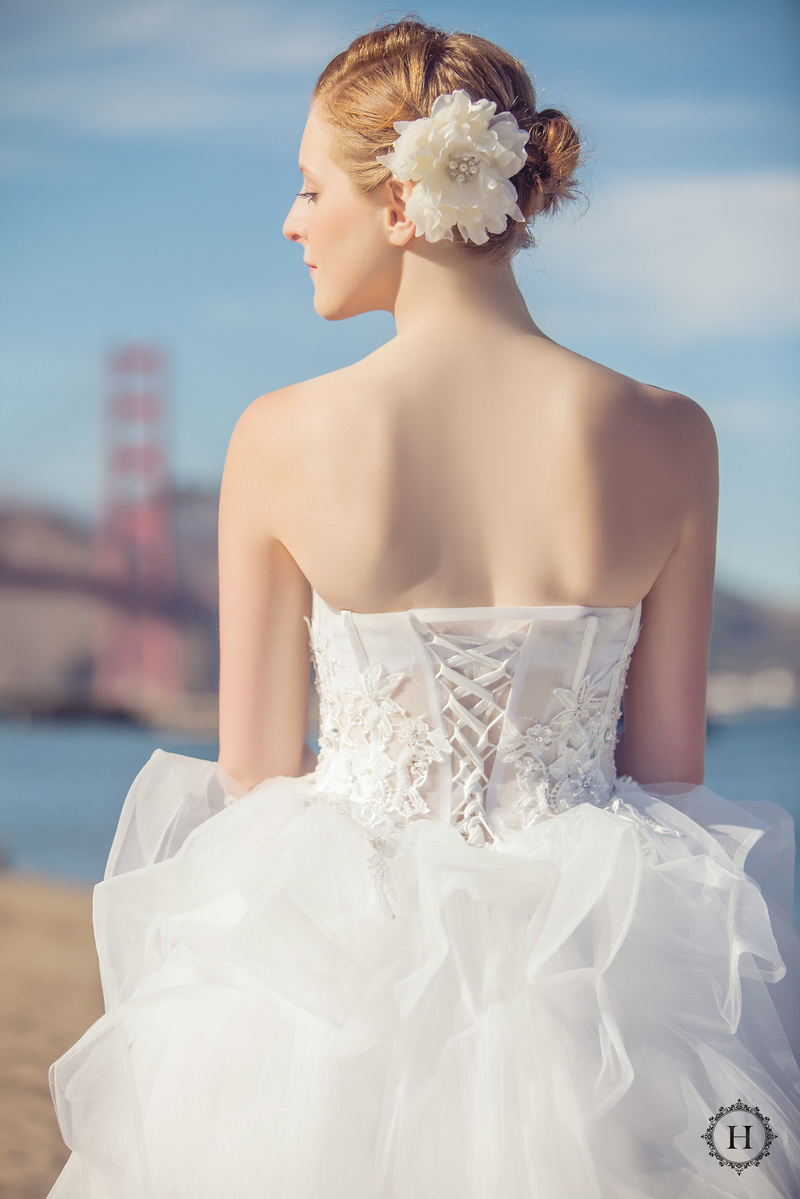 Female model photo shoot of Ela C in SF