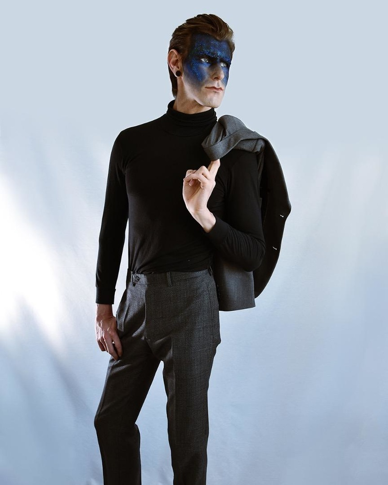 Male model photo shoot of Tyson Lamb in Toronto, Ontario