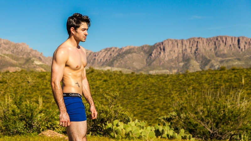 Male model photo shoot of Brendon W by focus-scout in Queen Valley, AZ