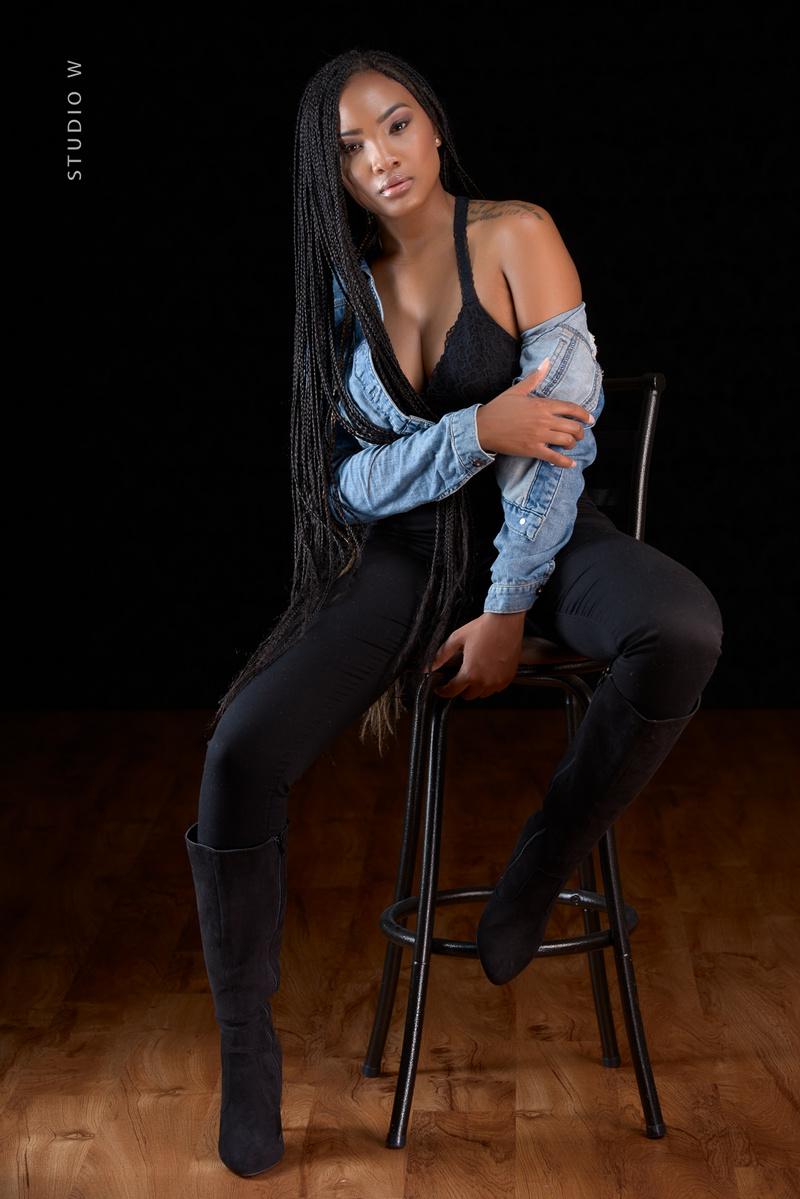 Female model photo shoot of Jasmine  Marie
