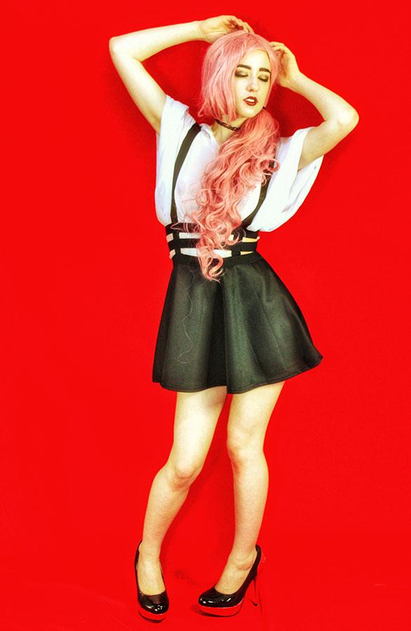 Female model photo shoot of Shy Pie by polyphemusphoto