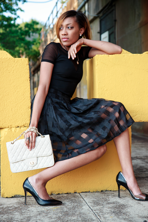Female model photo shoot of devon_natica and Keylove