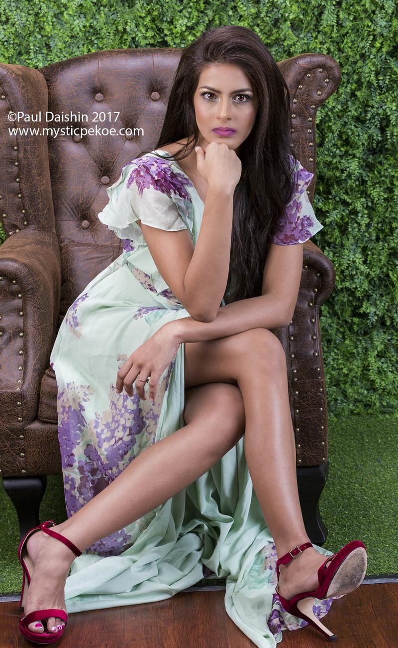 Male and Female model photo shoot of Paul Daishin and Tanooja Rai in Singapore