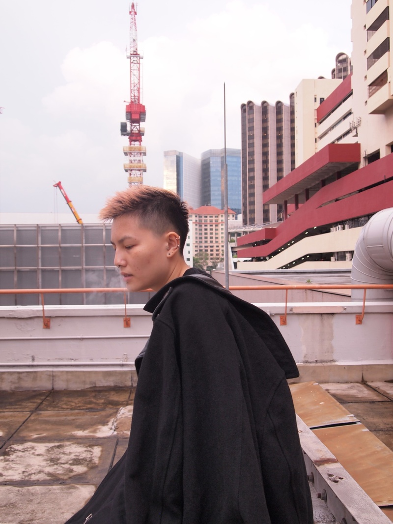 Female model photo shoot of jujusmurfed