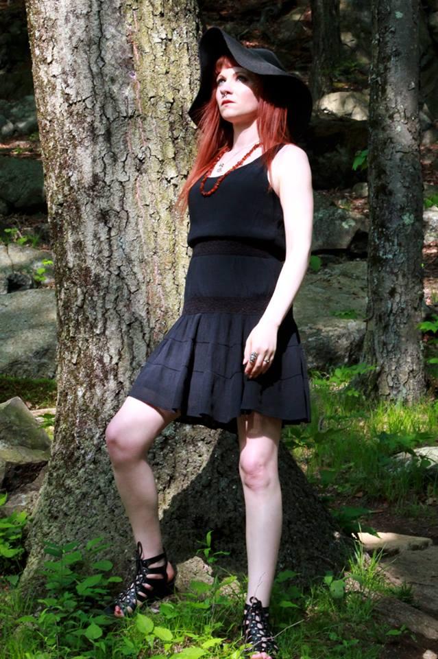 Female model photo shoot of Violet Marks