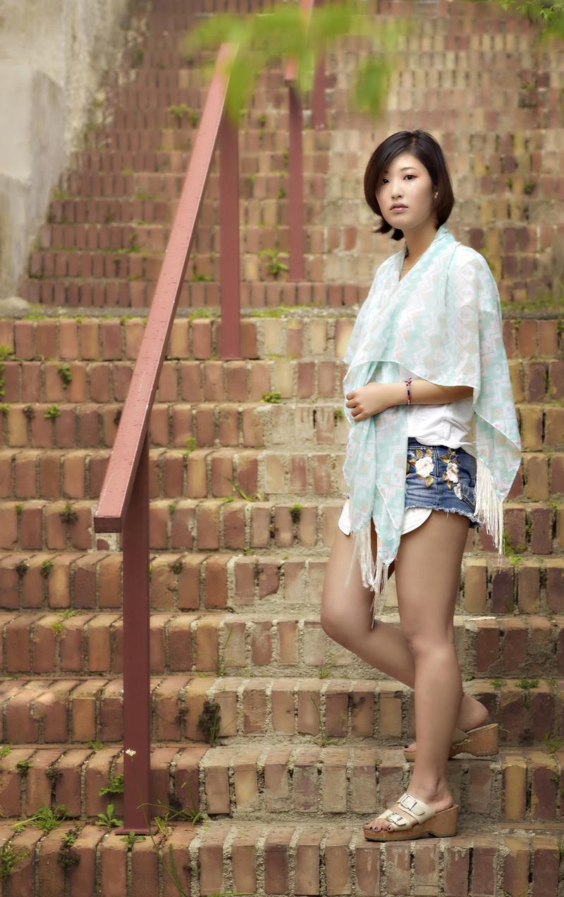 Female model photo shoot of ChloeNS in Italy