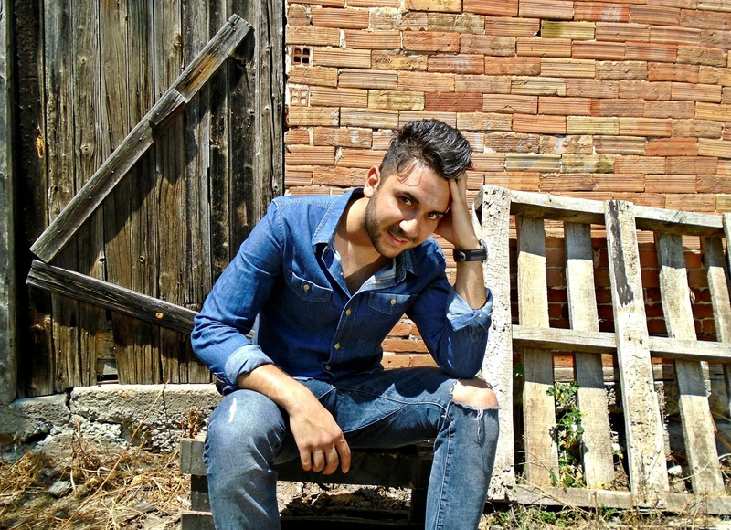 Male model photo shoot of Demetris Mavrou