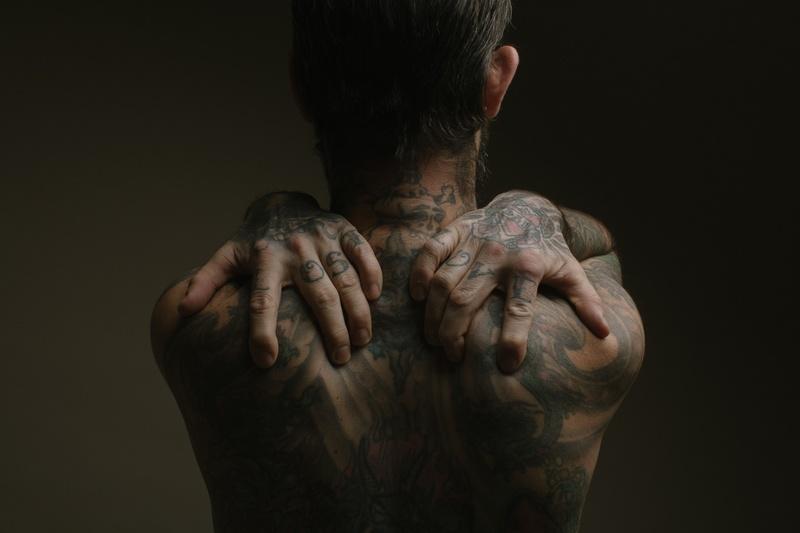 Male model photo shoot of Dark Zen in NYC