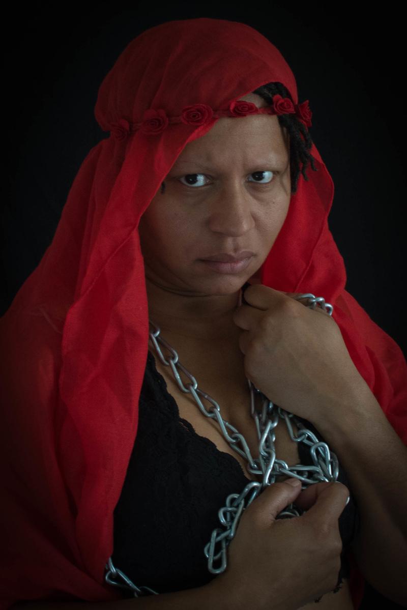 Female model photo shoot of typearso