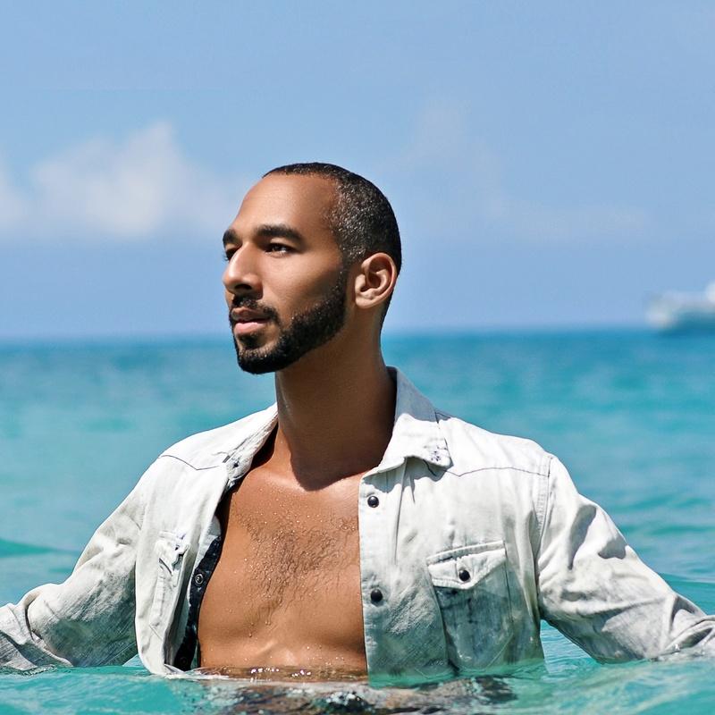 Male model photo shoot of Robert Lyle Alex Ball in St Croix, US Virgin Is
