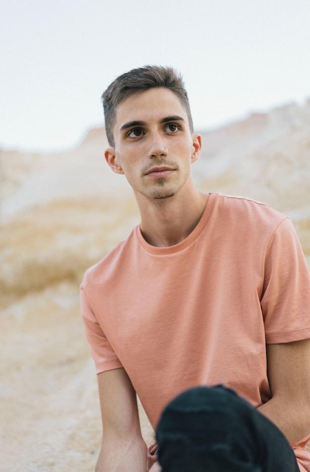 Male model photo shoot of lmock