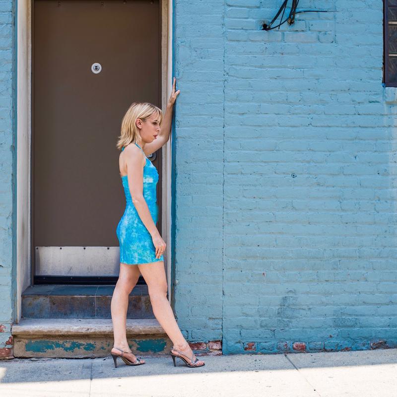 Female model photo shoot of Jilly Joan by OneKingGarcia in Alleyway- Hoboken, NJ