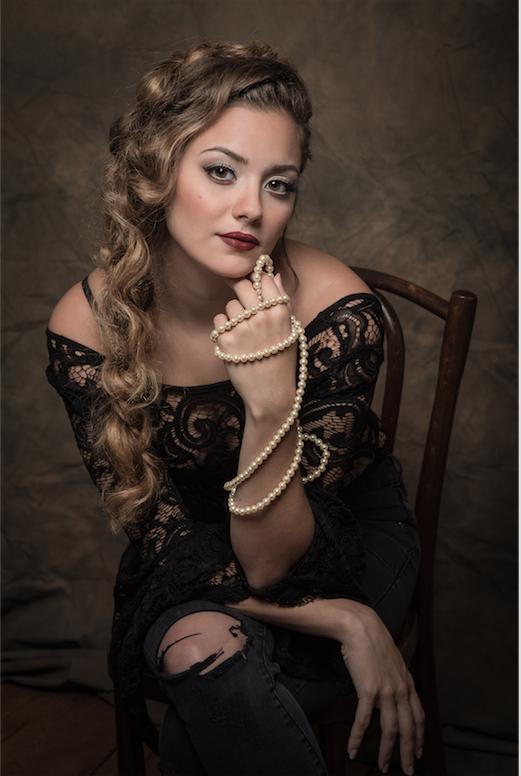 Female model photo shoot of Madelyn G in Princeton, NJ
