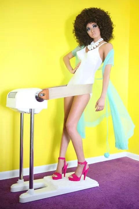 Female model photo shoot of Reina Dominguez