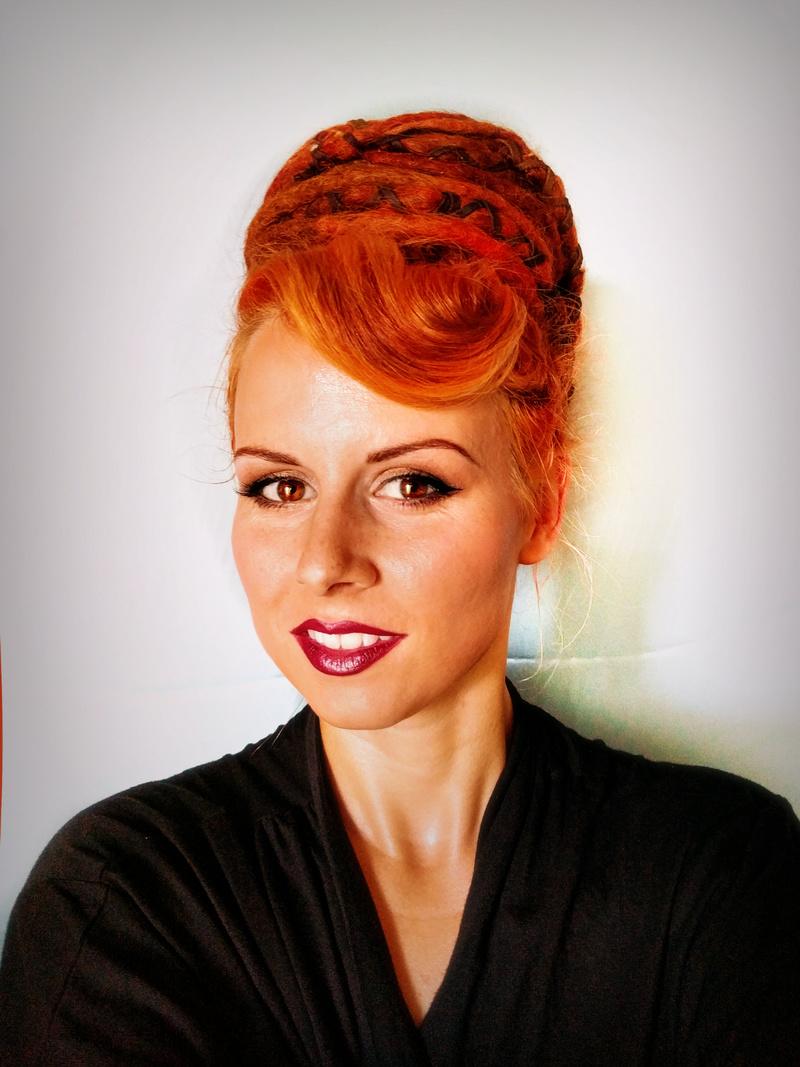 Female model photo shoot of Aine Artistry