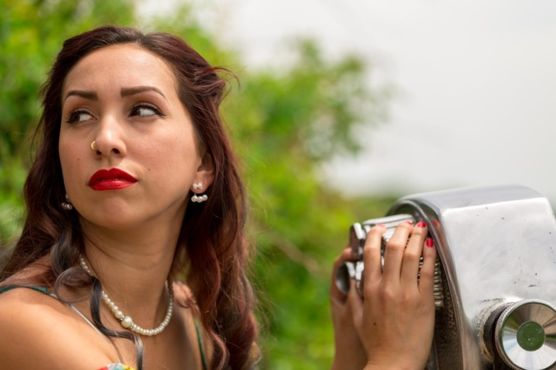 Female model photo shoot of Ashley Gabrielle  in Fellsway & Hammond Castle