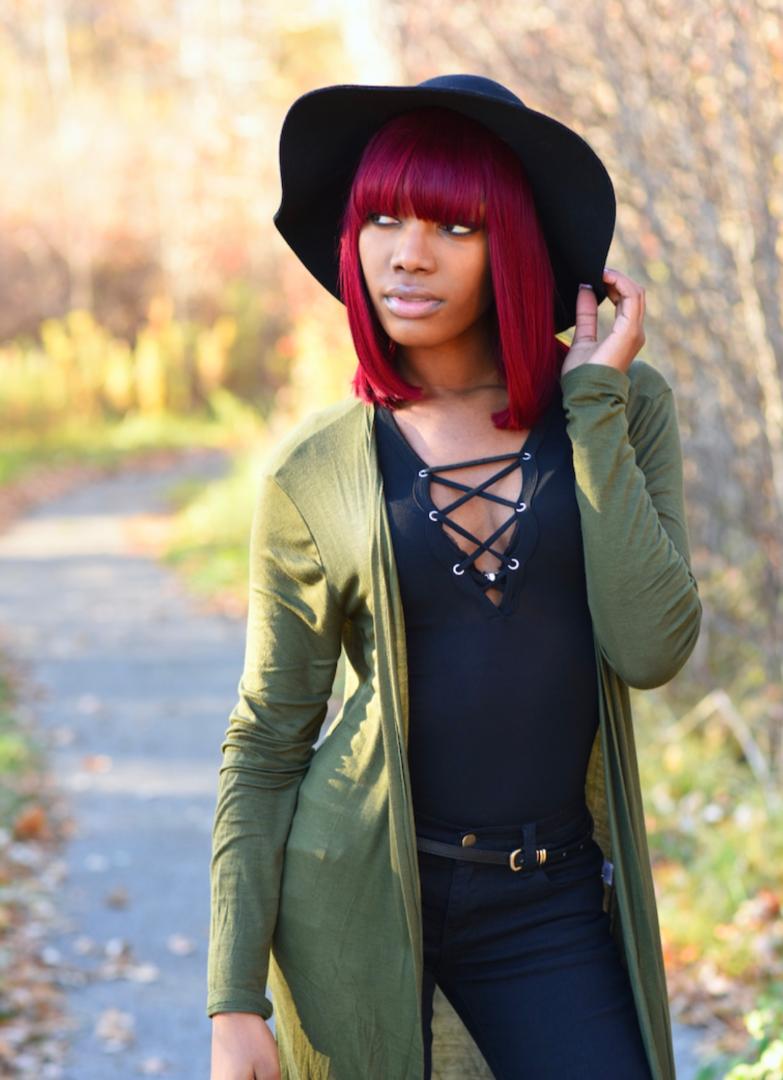 Female model photo shoot of Lashay Chapman