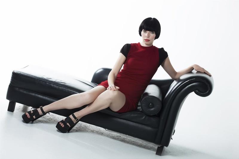 Female model photo shoot of saungle