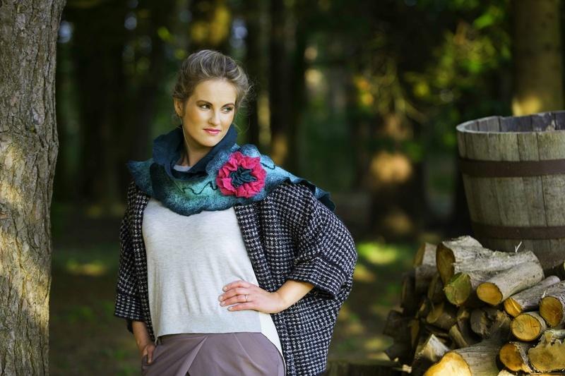 Female model photo shoot of HeartfeltFashion in Ireland, Stradbally