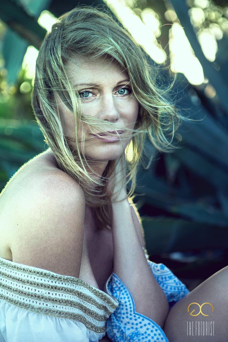 Female model photo shoot of DoBa by George Coqui
