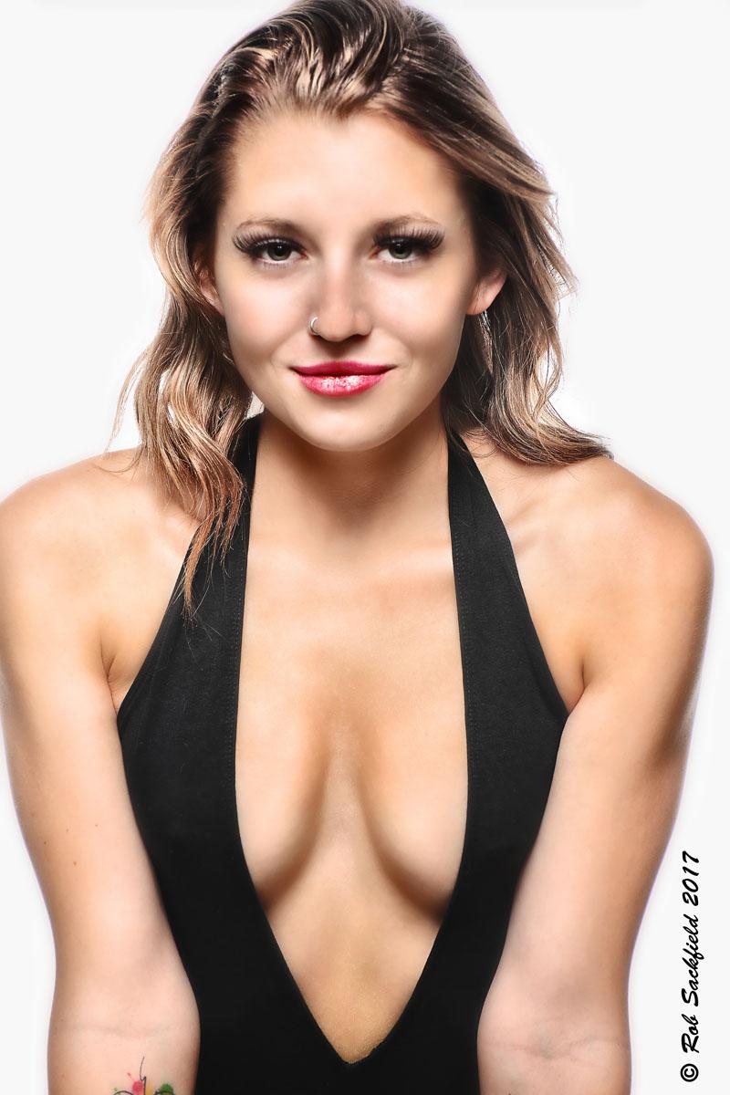 Female model photo shoot of Sydney Cruze by Rob Sackfield