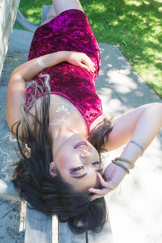 Female model photo shoot of Rhea Anne Myers in Green Lake Seattle