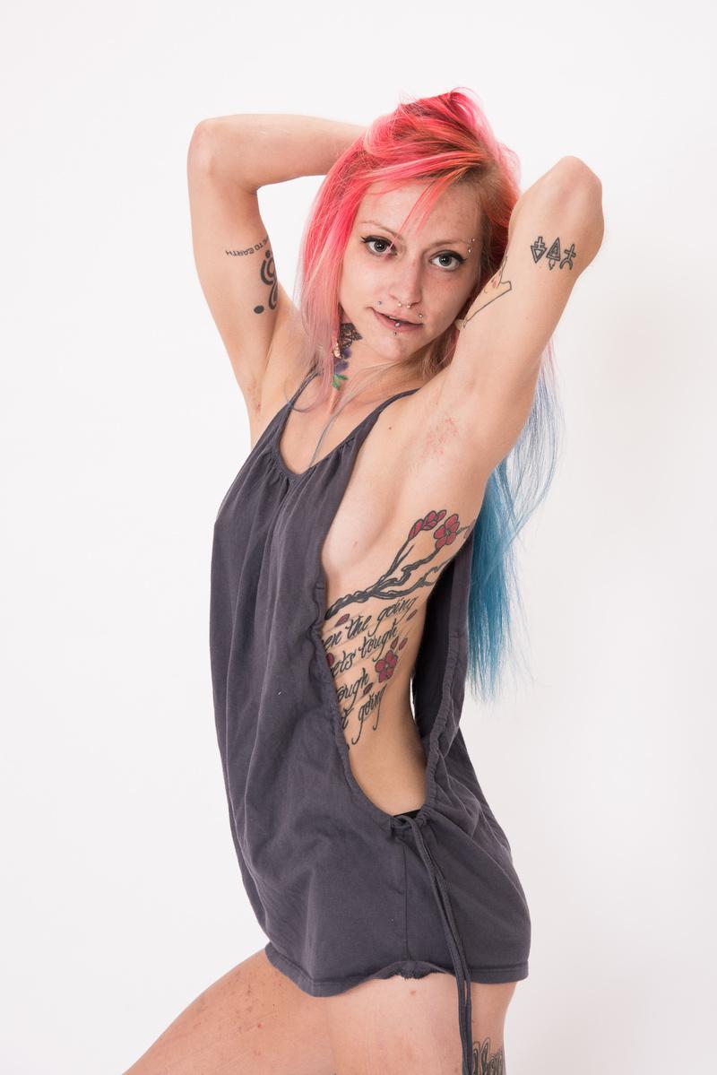 Female model photo shoot of Saint Alexandra