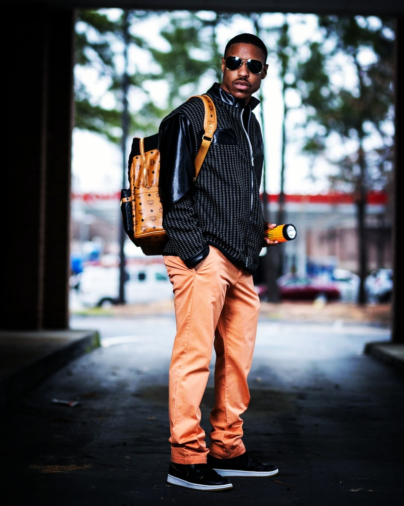Male model photo shoot of LamarLewisCollection by Henry Bradley Photography in Dunwoody, ga