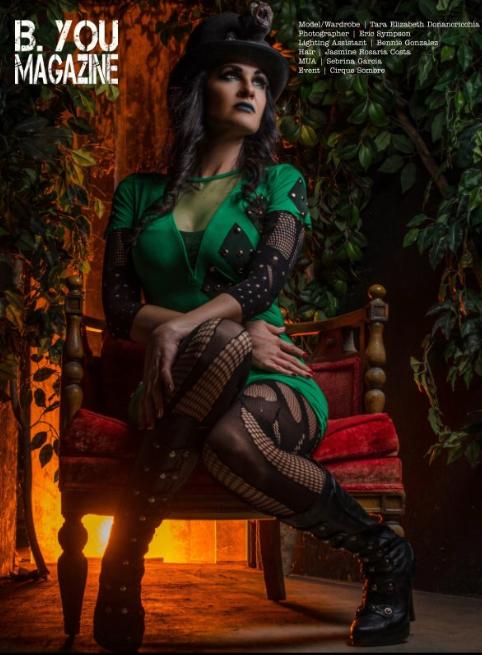 Female model photo shoot of Tara Donancricchia in Abandoned Haunted House Complex