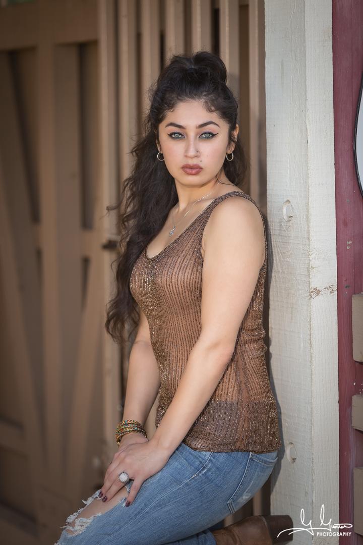 Female model photo shoot of Fanny Jimenez