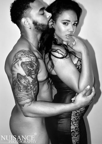 Male and Female model photo shoot of DeVonne Goode and justicekelley  by Nuisance Photography in Miami Fl.