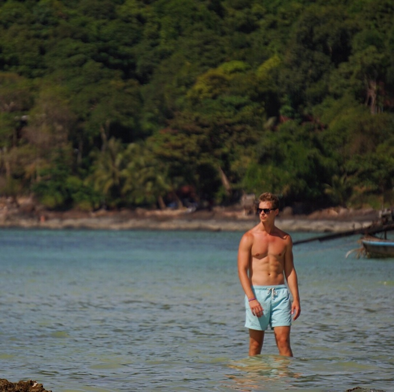 Male model photo shoot of Tyler Ellis in Thailand
