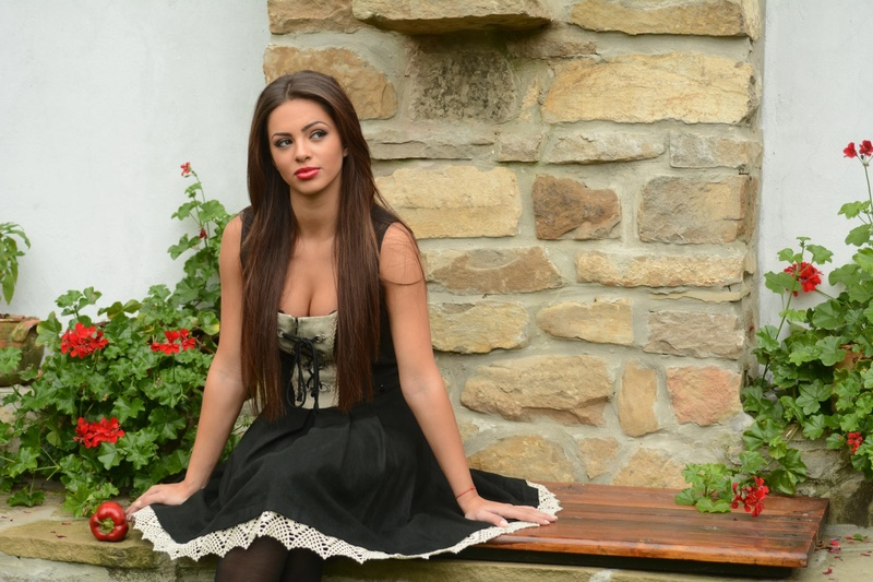 Female model photo shoot of Boyana  Marinova