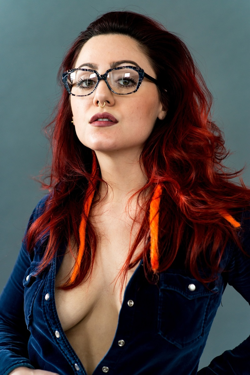 Female model photo shoot of Camille Carroll in Philadelphia PA