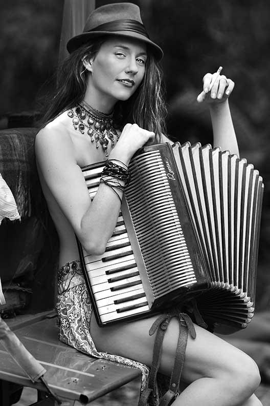 Female model photo shoot of HazeybabyXO by Brad Patton Photo